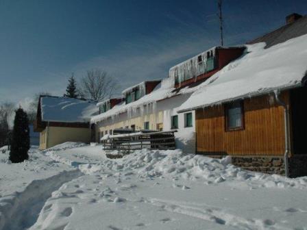 Zima na Bokově chatě